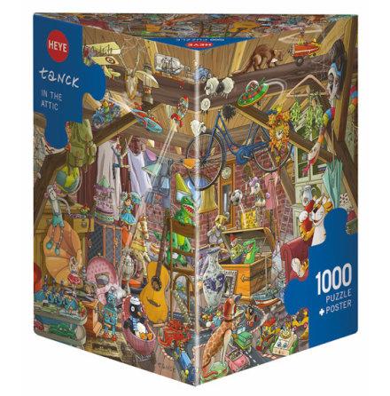 Tanck: In The Attic (1000 pieces triangular box)