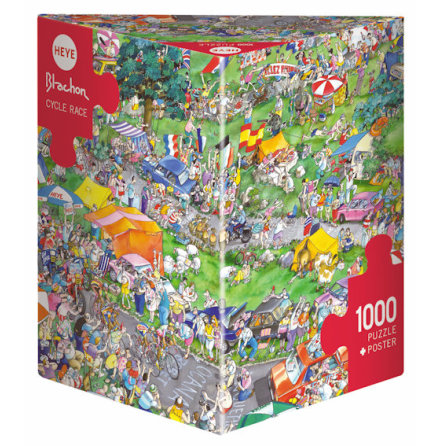 Blachon: Cycle Race (1000 pieces triangular box)