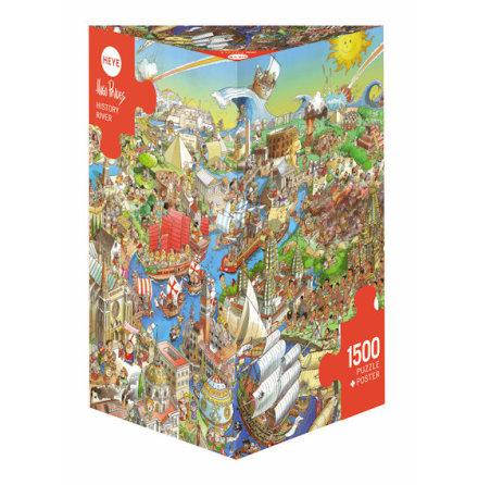 Prades: History River (1500 pieces triangular box)