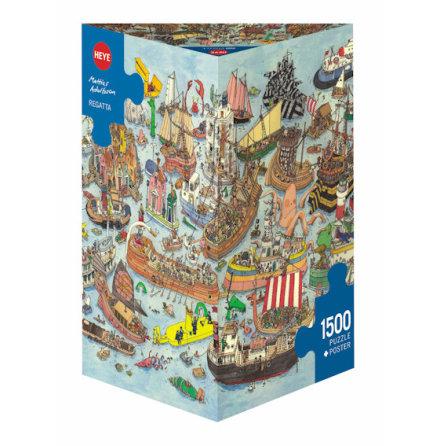 Adolfsson: Regatta (1500 pieces triangular box)