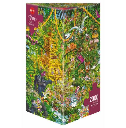 Ryba: Deep Jungle (2000 pieces triangular box)