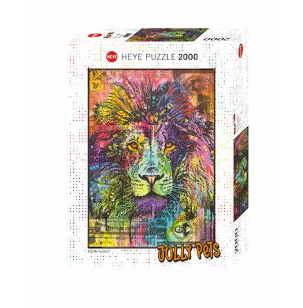 Jolly Pets: Lion´s Heart (2000 pieces)