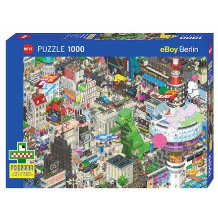 Pixorama: Berlin Quest (1000 pieces)