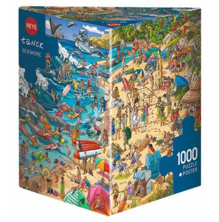 Tanck: Seashore (1000 pieces triangular box)