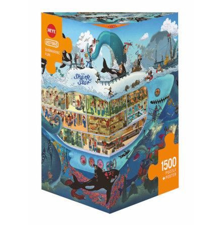 Oesterle: Submarine Fun (1500 pieces triangular box)