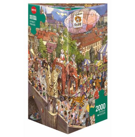 Göbel/Knorr: Street Parade (2000 pieces triangular box)
