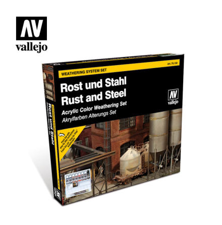 Model Color Set: Rust and Steel Effects